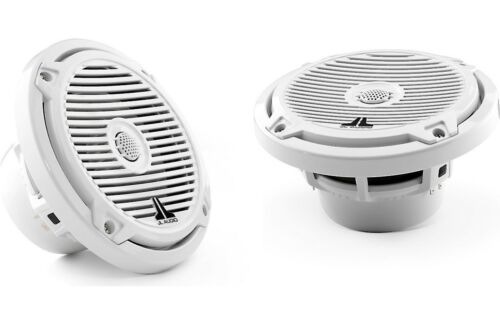 """JL Audio MX650-CCX-CG-WH 6-1/2"""" marine speakers (White w/ """"Classic"""" grilles)"""