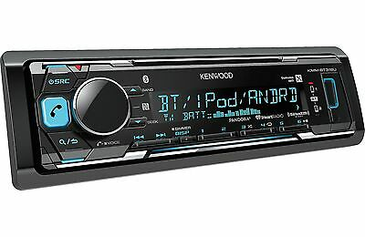 Kenwood KMM-BT318U MP3/USB/AM/FM Digital Media Player Bluetooth SiriusXM Ready