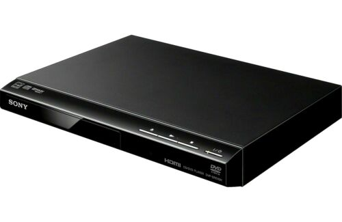 Sony DVP-SR510H CD / DVD Player with Remote & Video Cable cables fast ship Black
