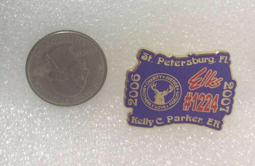 2006-07 BPOE Elks St. Petersburg Florida #1224 Kelly Parker Pin