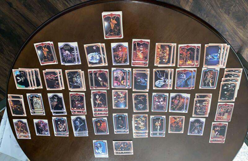 🔥Kiss 1978 Series 1 Trading Cards Complete Set  1-66 (NM/MT+) PLUS A LOT MORE!!