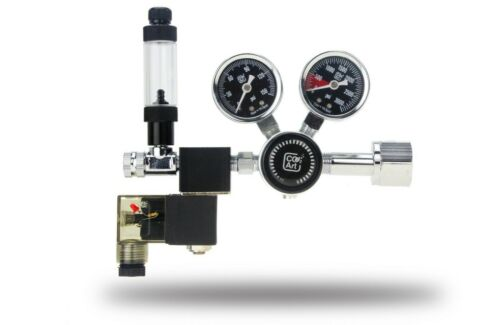 Co2Art PRO-SE Series Aquarium CO2 Dual Stage Regulator with Solenoid CO2 Art