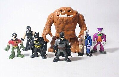 Imaginext Batman Figures Clay Face Clayface Figure Lot