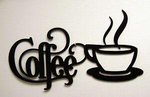 Black Coffee Sign with Mug 14