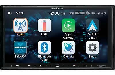 Alpine ILX-W650 Digital Receiver Apple CarPlay And Android Auto Compatibility - $299.95