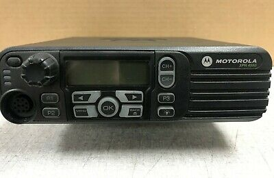 Motorola Xpr4550 Uhf 450-512 Mhz 40w Includes Mounting Bracket Screws Used