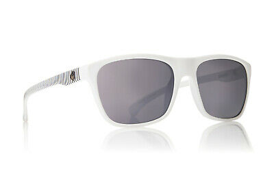 NEW Dragon Carry On White Silver Ion Mirror Mens Square Sunglasses (White Dragon Sunglasses)