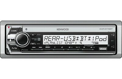 KENWOOD KMR-D772BT MARINE CD RECEIVER WITH BLUETOOTH 13 BAND