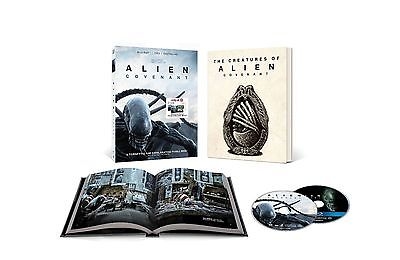 Alien Covenant Target Blu Ray Dvd W  Book Includes Digital Hd Ships 8 15
