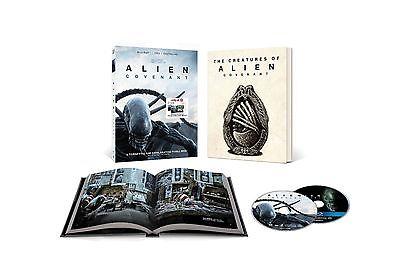 Alien Covenant Target Blu Ray Dvd W  Book Includes Digital Hd Ships 8 15