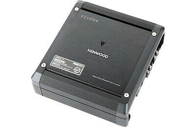 Yeni Kenwood Excelon X301-4 300 Watt Sınıf D 4-Kanal Araba Amplifikatör