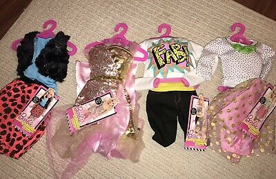 "NEW w/tags Lot My Best Friend, My Size BARBIE 28"" Doll Clothing 4 Styles"