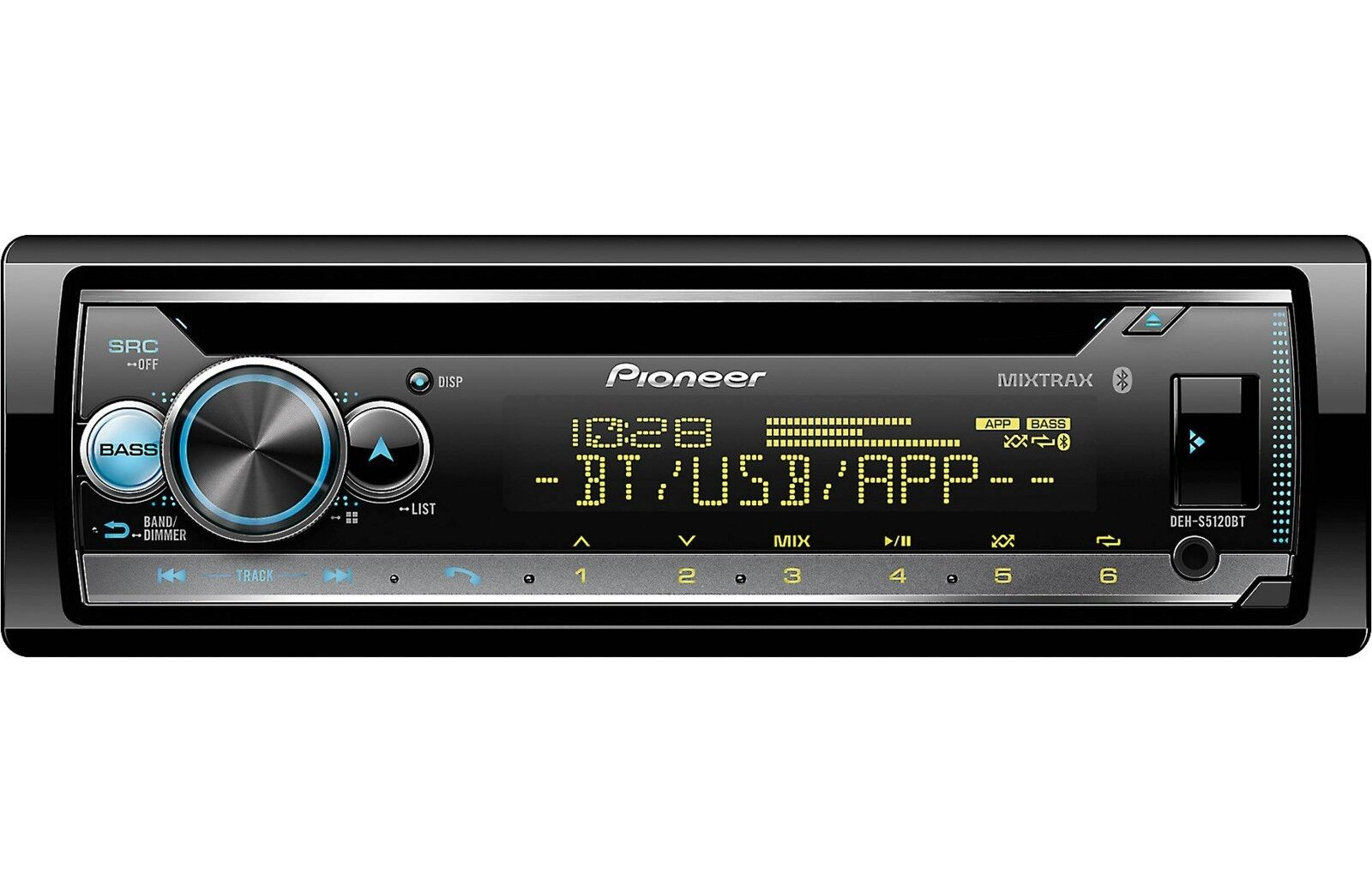 Pioneer DEH-S5120BT CD Player with Bluetooth