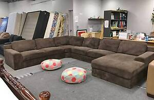 DELIVERY TODAY EXTREMELY COMFORT HUGE shape corner sofa SALE Belmont Belmont Area Preview