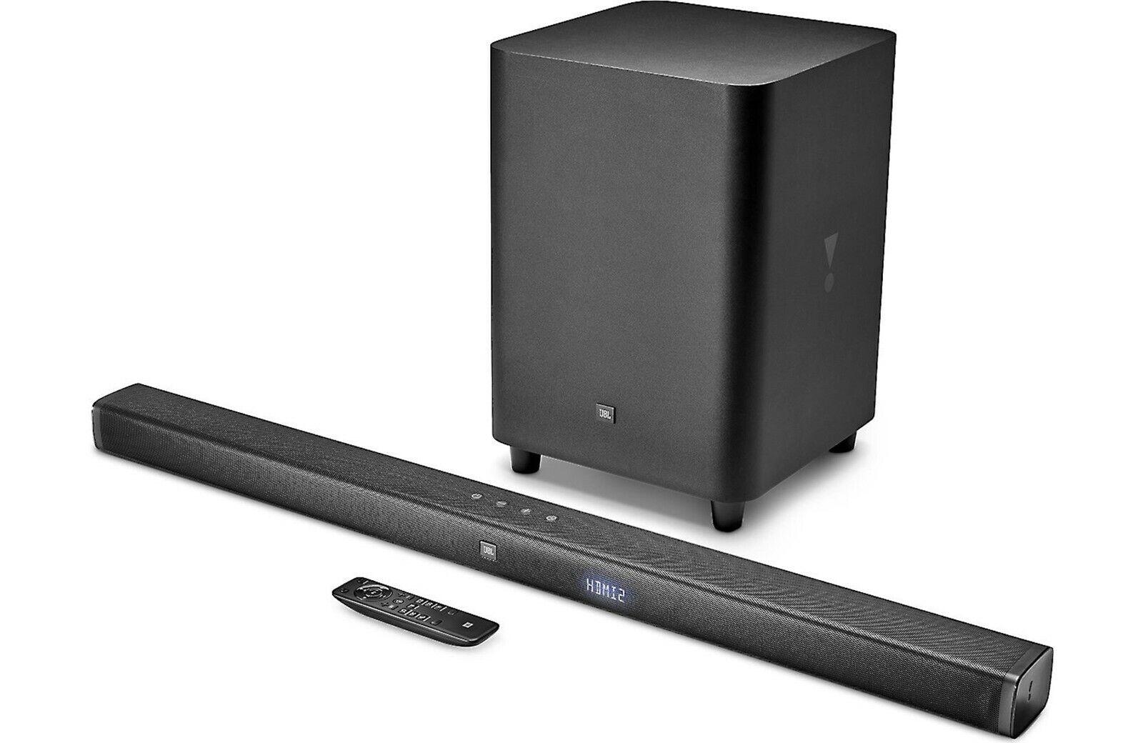 JBL BAR 3.1 HOME THEATER 4K HD SOUNDBAR SURROUND SOUND W/