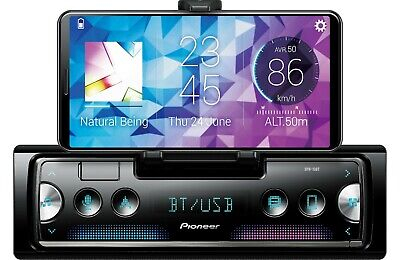 NEW Pioneer SPH-10BT 1 DIN Digital Media Player Bluetooth Pop Out Phone Cradle
