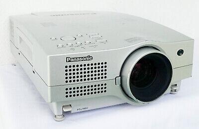 Panasonic PT-L785U LCD Projector 3200 ANSI Lumens HD 1080i BNC