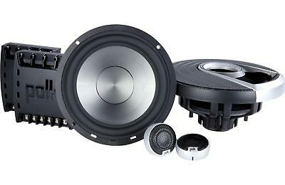 "Polk Audio MM6502 6.5"" 2-Way Component Set Car Stereo Boat Marine Speaker System"
