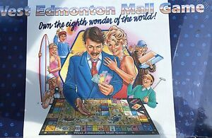 the West Edmonton Mall board game in original packaging $250 obo