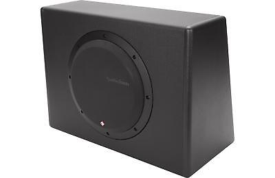Rockford Fosgate P300-10 Ginger Powered Loaded 10-Inch Subwoofer Enclosure