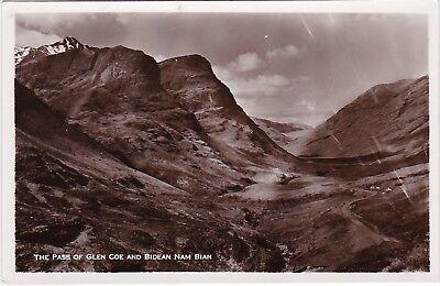 The Pass & Bidean Nam Bian, GLENCOE, Argyllshire RP