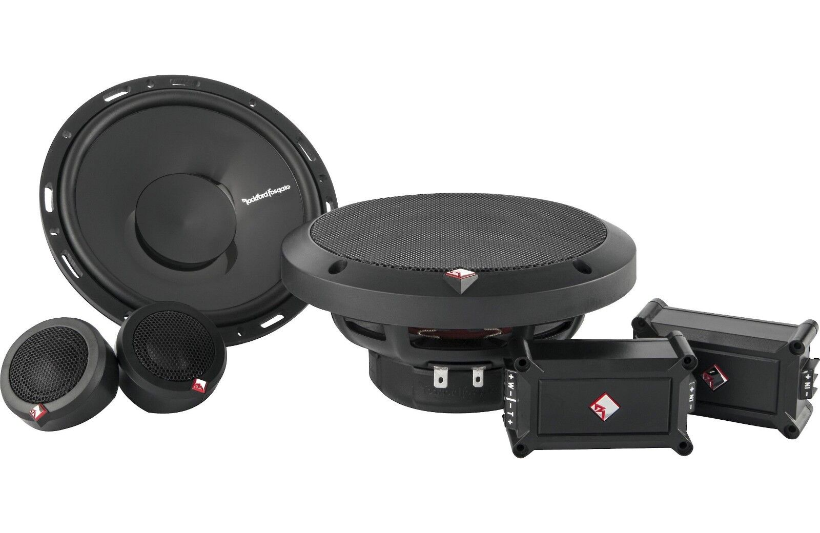 "Rockford Fosgate P165-SE 120 W 6.5"" 2-Way Component Speaker"