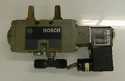 Bosch 0 820 022 026 Solenoid Valve w/ 1 824 210 243 24/48V Coils, Used, WARRANTY