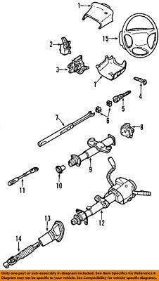 GM OEM Steering Column-Lower Bearings 88963617