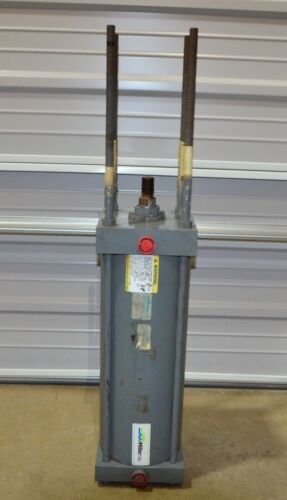 """Miller A53B2N Pneumatic Cylinder 7"""" Bore / 5 WS Stroke / 1-3/8"""" Rod Dia / 250PSI"""
