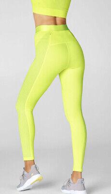 fabletics sculptknit High Rise Leggings XXS/XS Neon Yellow