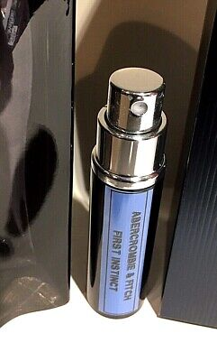 ABERCROMBIE & FITCH FIRST INSTINCT BLUE 6ML SAMPLE SIZE Luxury Case Travel Spray