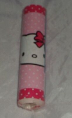 Hello Kitty wall Border Polka Dot Pink Self Adhesive NEW 5m Deco Fun Kid Bedroom