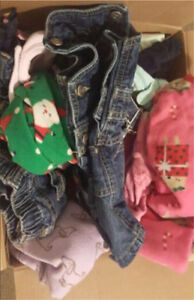 12-24 month girls clothing lot!