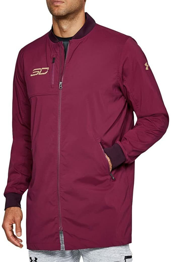 under-armour-mens-curry-life-long-range-bomber-top-jacket-size-s