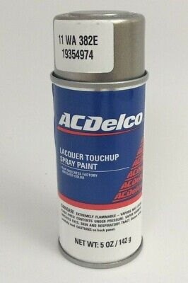 GM ACDelco Chevrolet GMC Pewter Metallic Lacquer Touch-Up Spray Paint WA382E