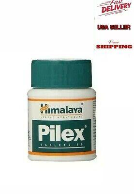 Himalaya Herbal PILEX for Hemorrhoids & Varicose Veins, Ayurvedic 60tablets.