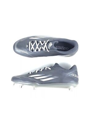 competitive price 17c15 16b73 New Adidas Adizero Afterburner 2.0 Low Baseball Cleats Men s Size 9 Gray  S84698