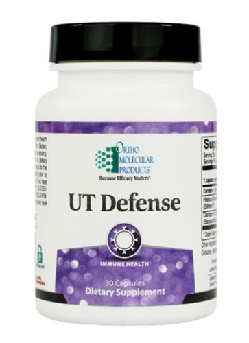 Ortho Molecular UT Defense 30 Capsules Exp. 6/21 FRESH & FAST