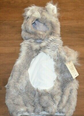 Pottery Barn Kids Baby Woodland Squirrel Halloween Costume 3T NEW Gray RARE!
