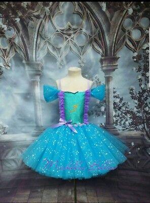 Ariel The little mermaid style tutu dress - The Little Mermaid Tutu