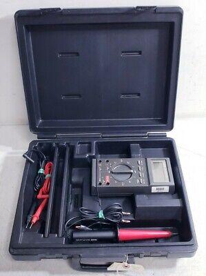 Military Fluke 27fm Multimeter Attachments Hard Shell Case Brs