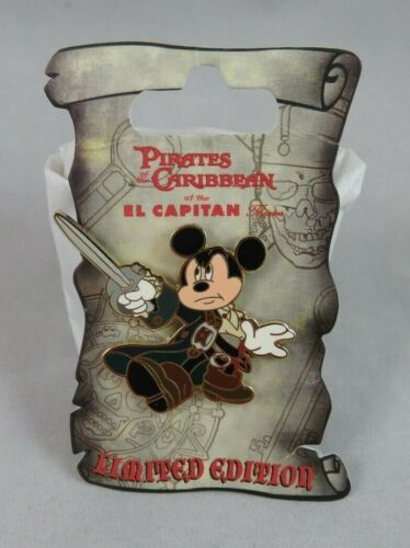 Disney DSF Pin - Pirates of the Caribbean - Jack Sparrow Mickey Mouse Pose
