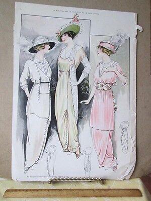 Vintage Print Le Bon Ton Styles 2027 2029