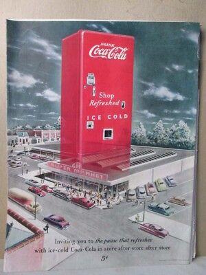 Vintage Print,COCA COLA ADV,1949,Sat.Eve.Post ()
