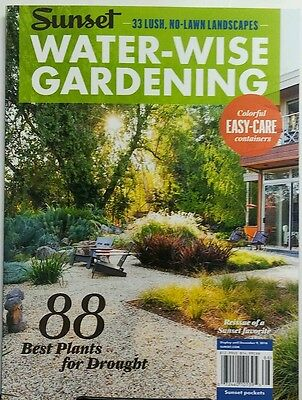Sunset Water Wise Gardening 88 Best Plants for Droughts Lawns FREE SHIPPING