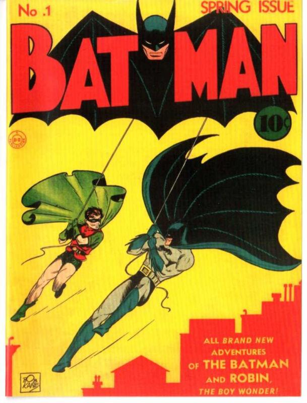 Batman #1 Spring 1940 Custom Made Cover REPRINT