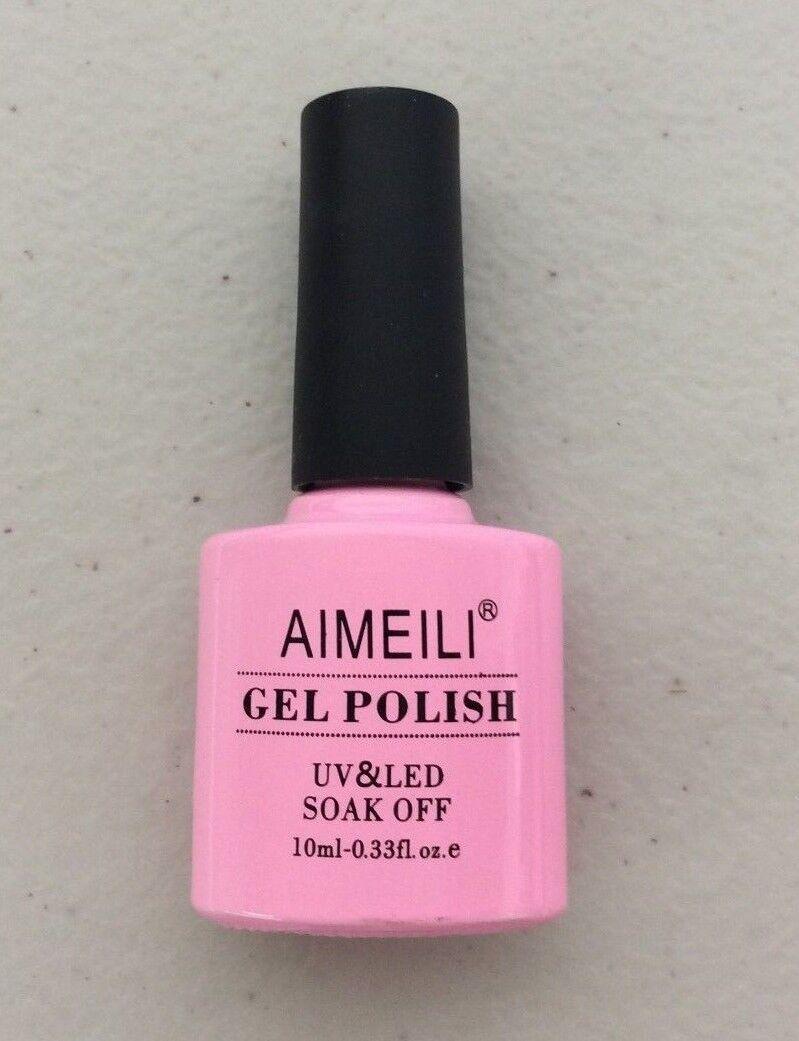 AIMEILI Soak Off UV LED Gel Nail Polish - Marbled 034 10ml