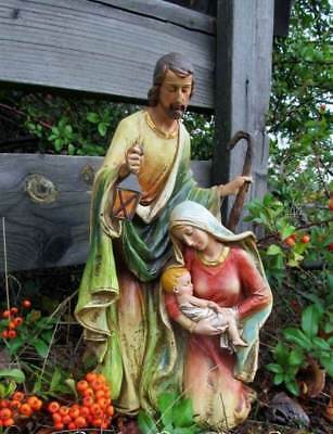 Nativity Set Holy Family 15 inch Resin Indoor Outdoor Garden Statue Yard Decor