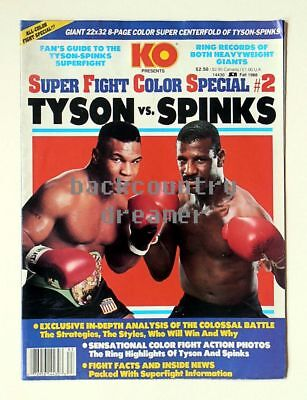 36 x 24 EVANDER HOLYFIELD MIKE TYSON Poster Boxing Heavyweight Boxing Poster A