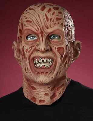 Freddy Krueger Mask A Nightmare on Elm Street Halloween Adult Costume Accessory